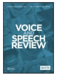 Voice and Speech Review